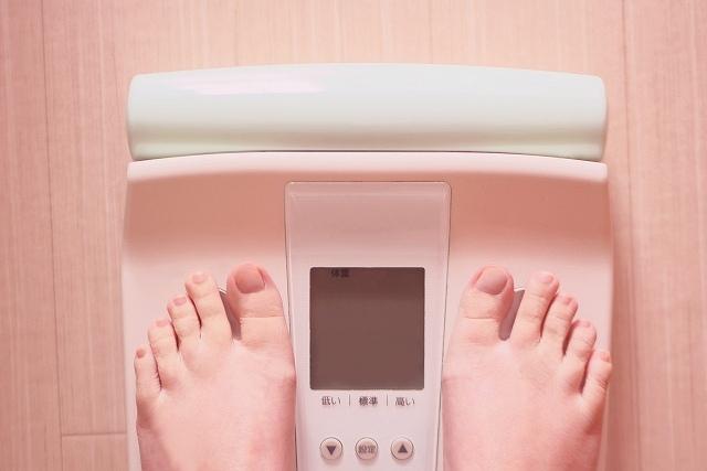 ダイエット-体重計