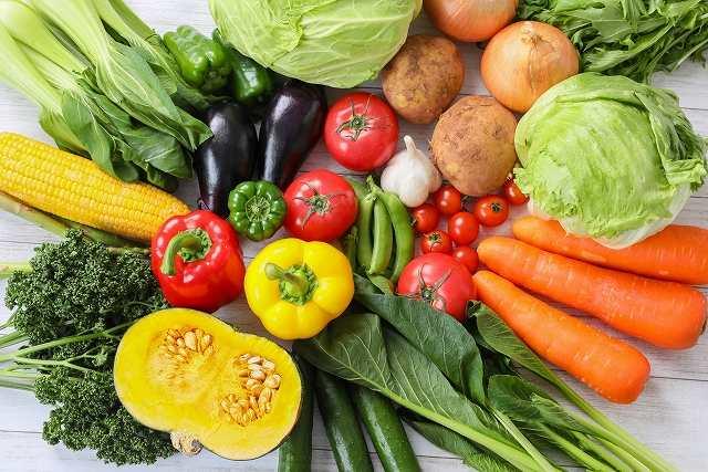 野菜中心の食生活