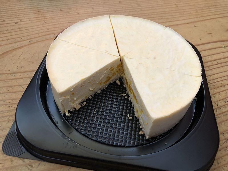 AZFOODの、低糖質な栗かぼちゃのレアチーズケーキ